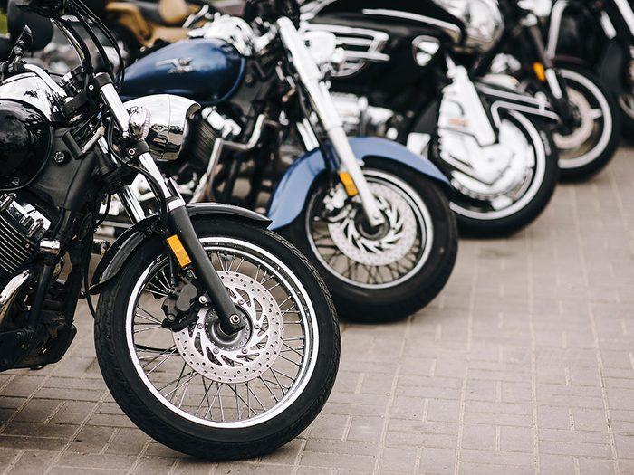 Les milléniaux ont fait disparaître les motos.