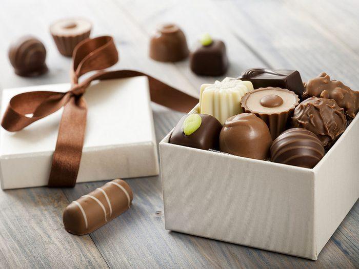 Pour Noël, n'offrez pas de chocolat.