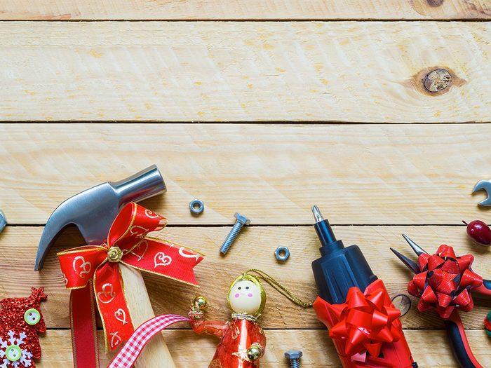 Pour Noël, n'offrez pas d'outils.