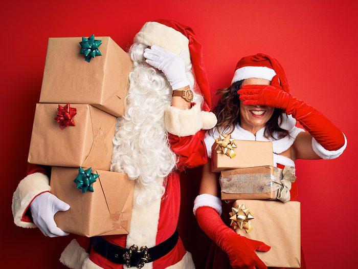 Pour Noël, n'offrez pas de sous-vêtements sexy.