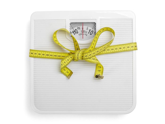 Pour Noël, n'offrez pas de pèse-personne.