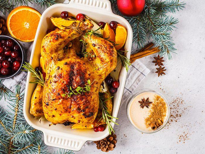 Faites attention à ce que vous mangez pendant les fêtes et Noël.