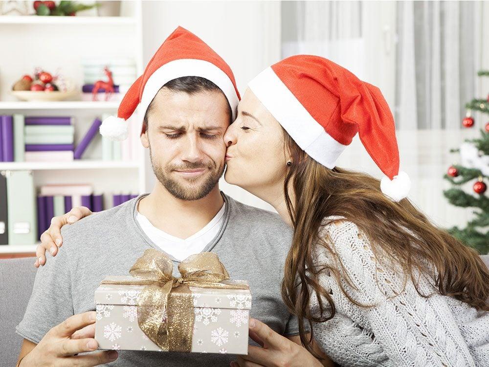 Pour Noël, n'offrez pas un faux cadeau que vous allez utiliser vous-même!