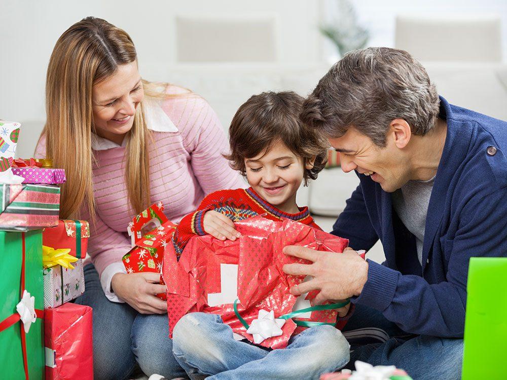 Des cadeaux de Noël... blessants!