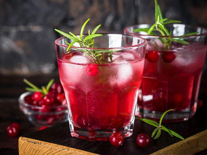 Boire «vert» pour passer un Noël zéro déchet.