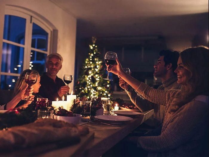 Recevoir bio et avec des produits locaux pour passer un Noël zéro déchet.