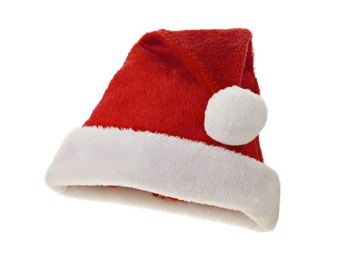 Le père Noël s'est déguisé en mamie!