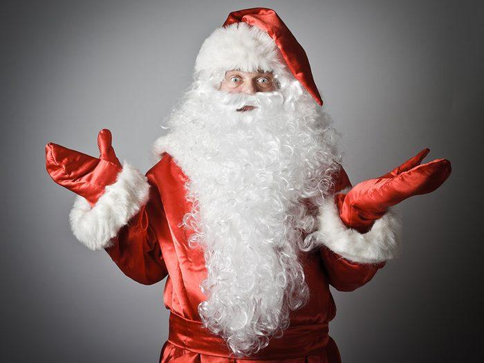 Le père Noël perd la mémoire...