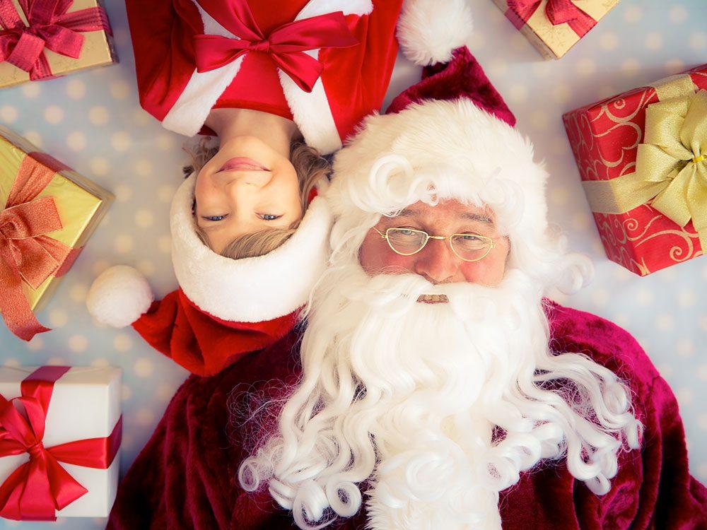 Personne ne veut voir le père Noël pleurer.