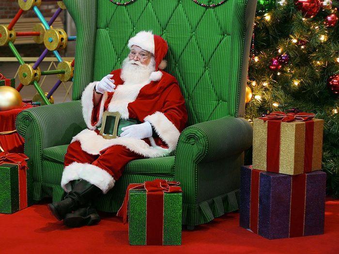 «Pourquoi tu ne m'as pas dit que tu connaissais le père Noël?»
