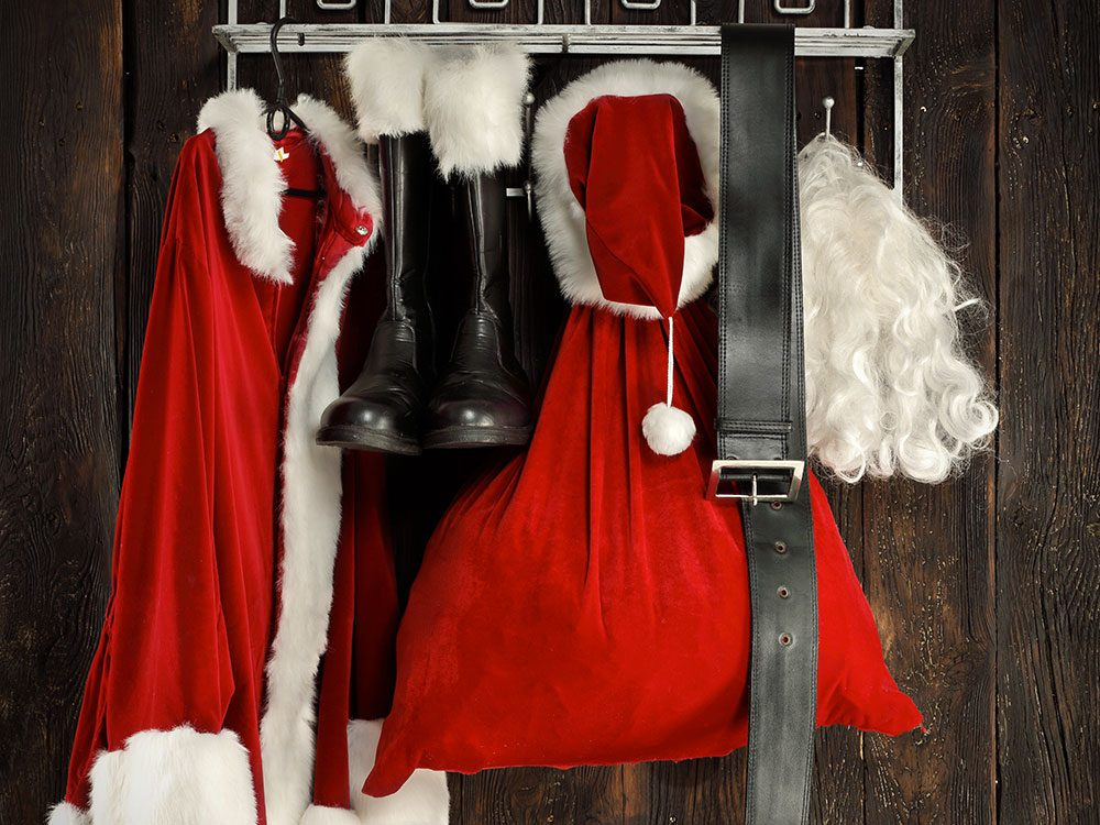 «Le père Noël est reparti tout nu!»