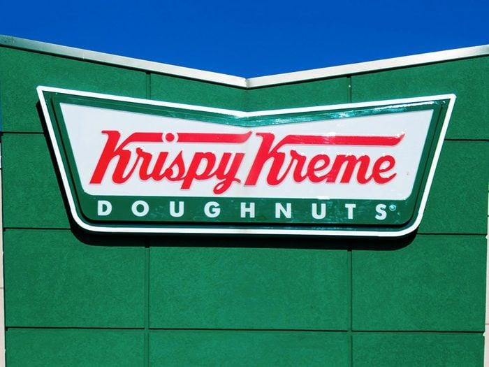Un résident de Los Angeles, a intenté contre Krispy Kreme une poursuite pour manque de fruits dans leurs produits.