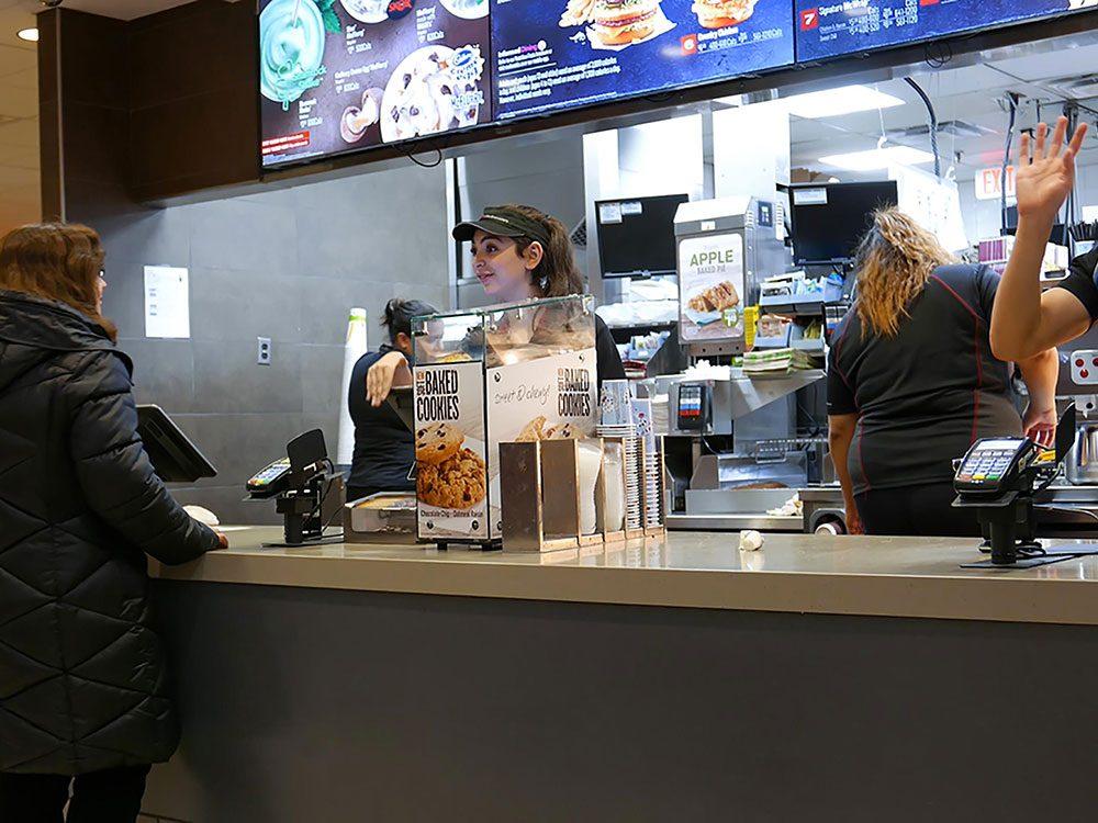 En restauration rapide, on peut avoir les menus les plus chers à un meilleur prix.