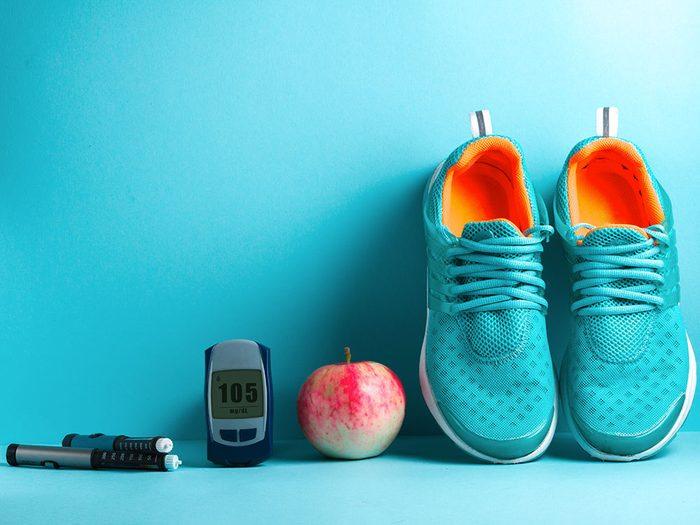 Sport à jeun: les bienfaits de l'insuline.