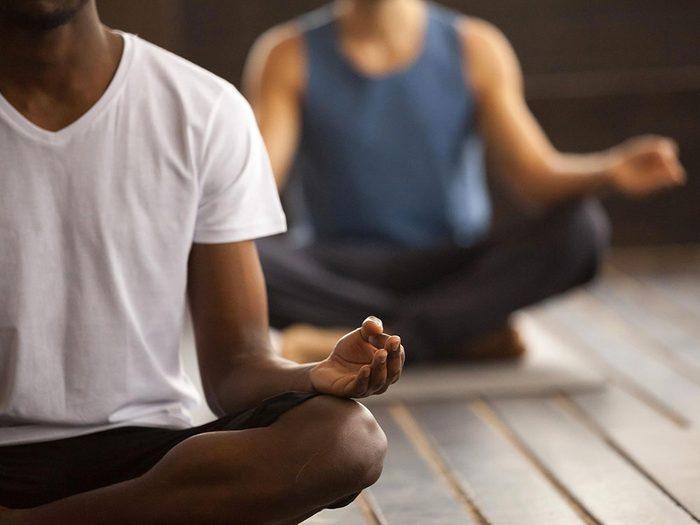 Gardez du temps pour bouger pour gérer votre stress.