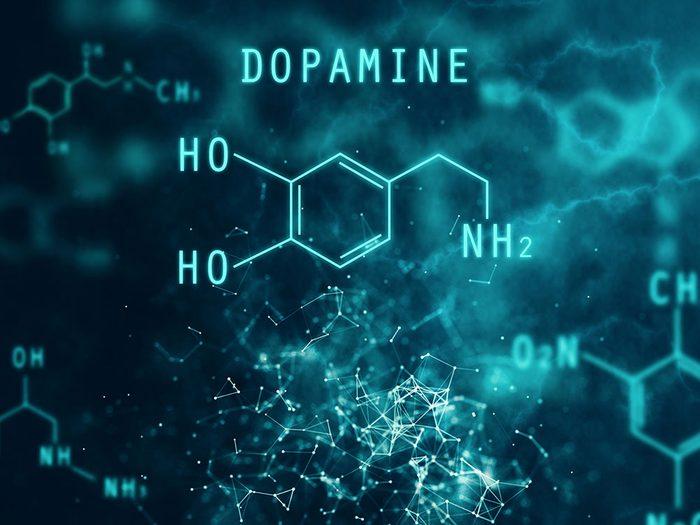Le sucre et les poussées de dopamine.