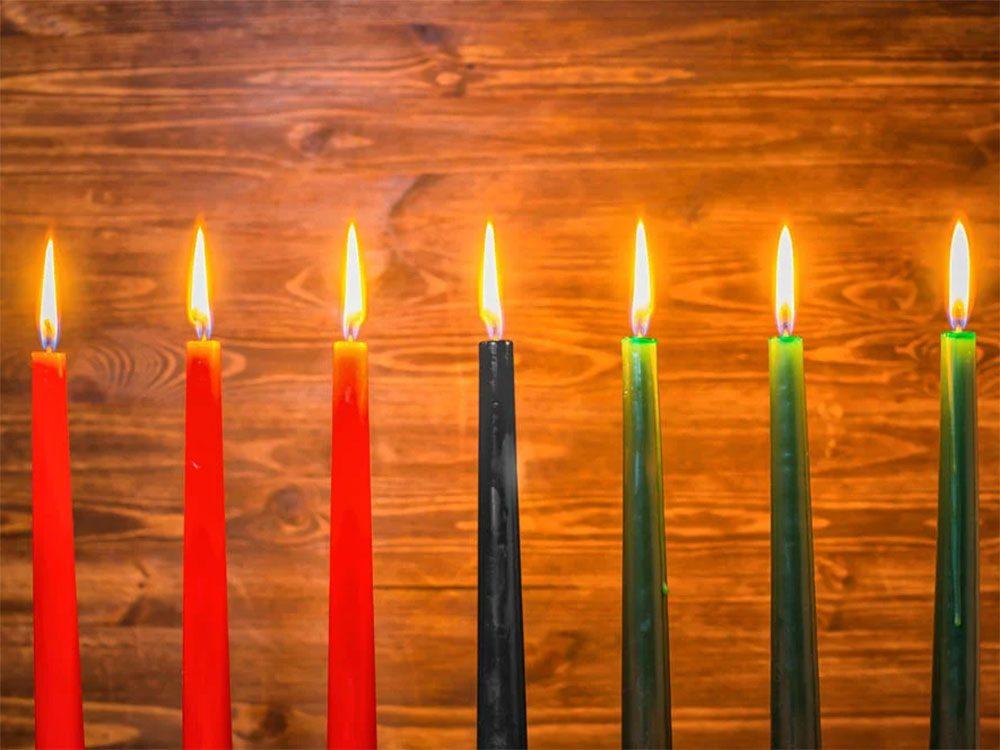 Temps des fêtes: le numéro 7 revient beaucoup dans la fête de Kwanzaa.