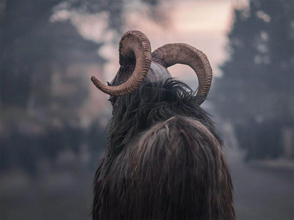 Temps des fêtes: Krampus est à l'origine du «méchant père Noël».