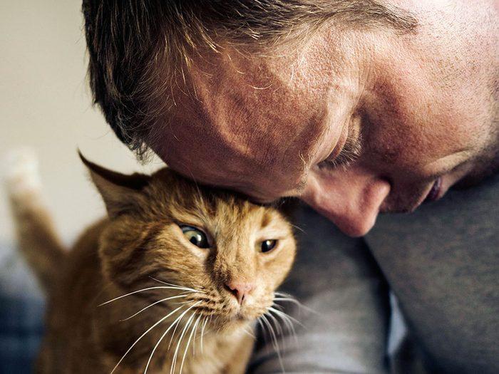 Le vétérinaire précise que donner de la nourriture, ce n'est pas de l'amour.