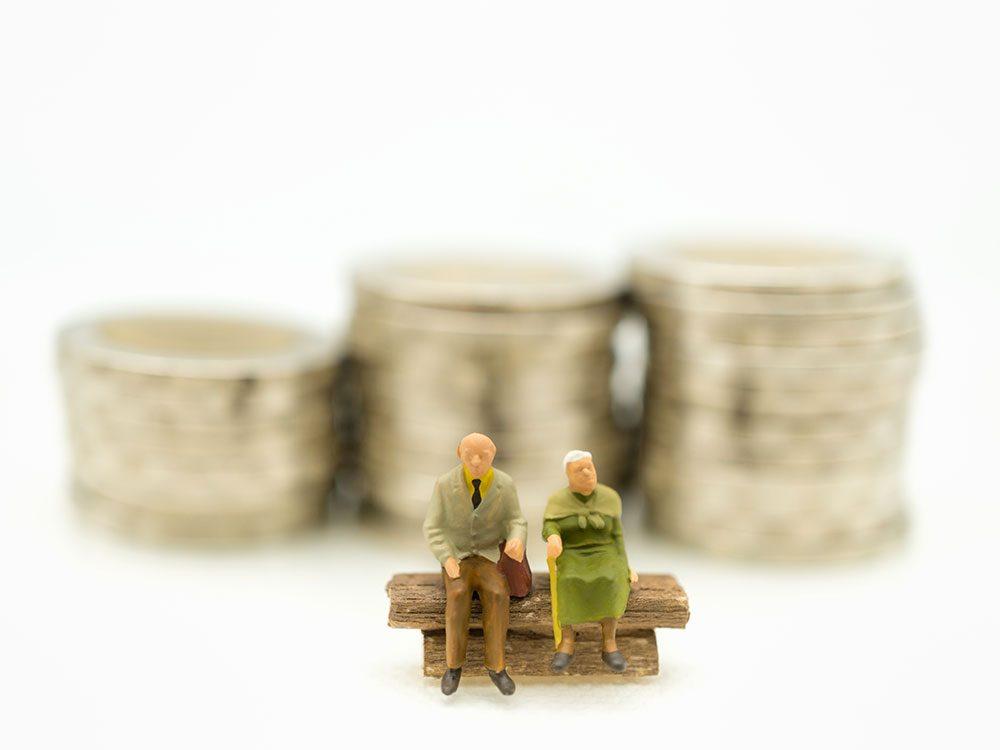 Il est important de gérer sagement son argent quand on veut vieillir chez soi.