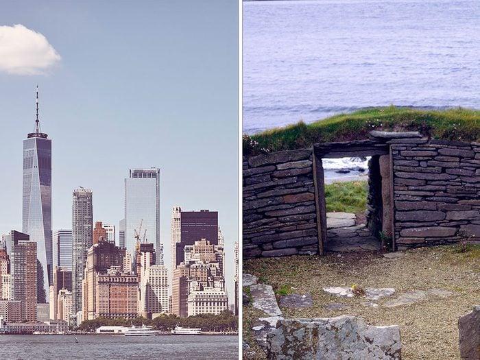 9 des plus vieux bâtiments du monde.