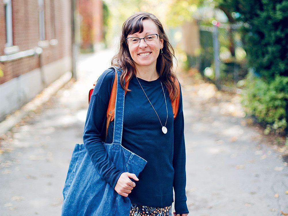 Mélissa de La Fontaine, conférencière et consultante en approche zéro déchet.