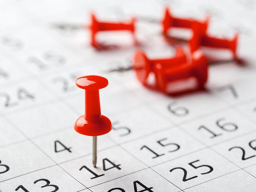Fixez une date pour arrêter de vapoter.