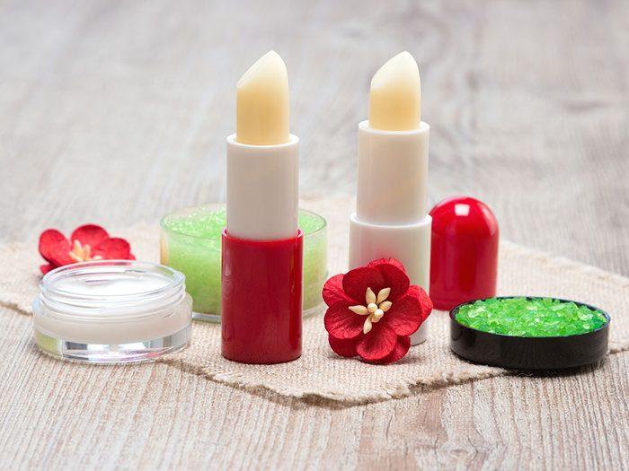 Offrez un assortiment de baume à lèvres comme cadeau de dernière minute!