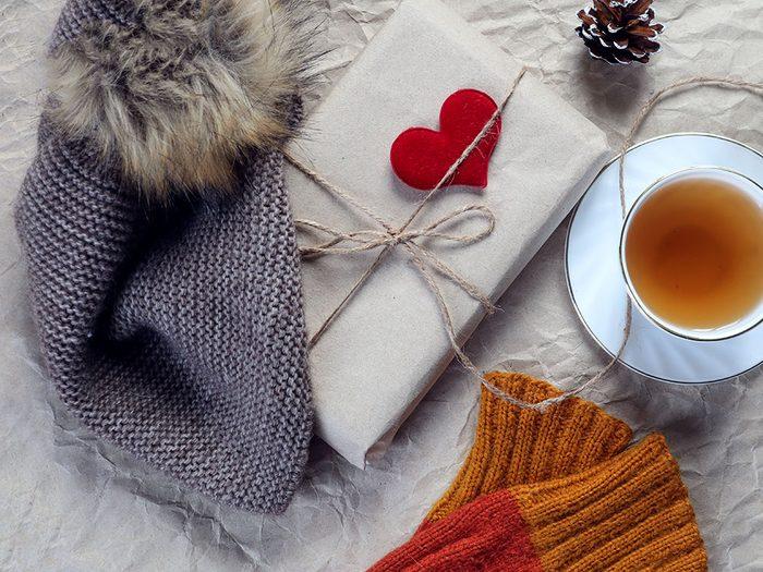 Offrez un ensemble «contre le froid» comme cadeau de dernière minute!