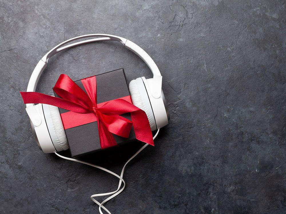 Offrez des écouteurs comme cadeau de dernière minute!