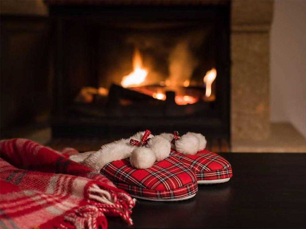 Offrez des pantoufles comme cadeau de dernière minute!