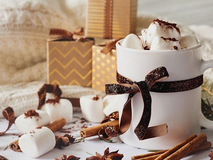 Offrez des ensembles à boissons chaudes comme cadeau de dernière minute!