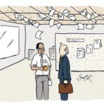 Humour au travail: 15 illustrations comiques