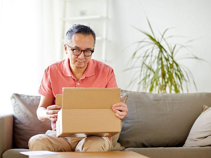 Les retours faciles sont utilsés par les commerces en ligne.