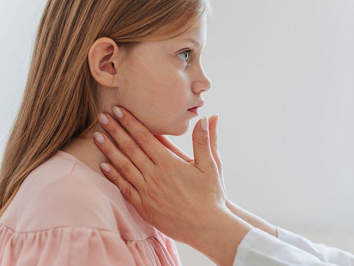 Dépression infantile: votre enfant va souvent à l'infirmerie.
