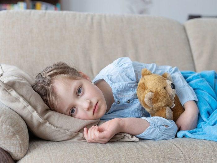Votre enfant est toujours fatigué, cela pourrait être de la dépression infantile.