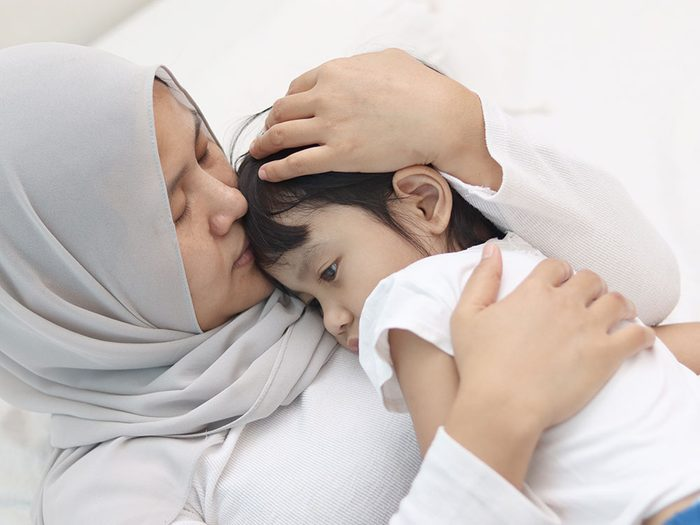 Dépression infantile: votre enfant est inconsolable.