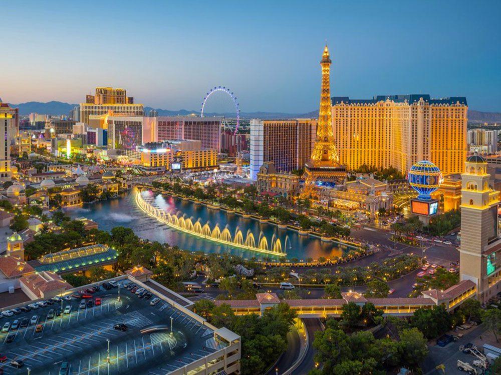 Faits incroyables: Las Vegas Strip n'est pas à Las Vegas.