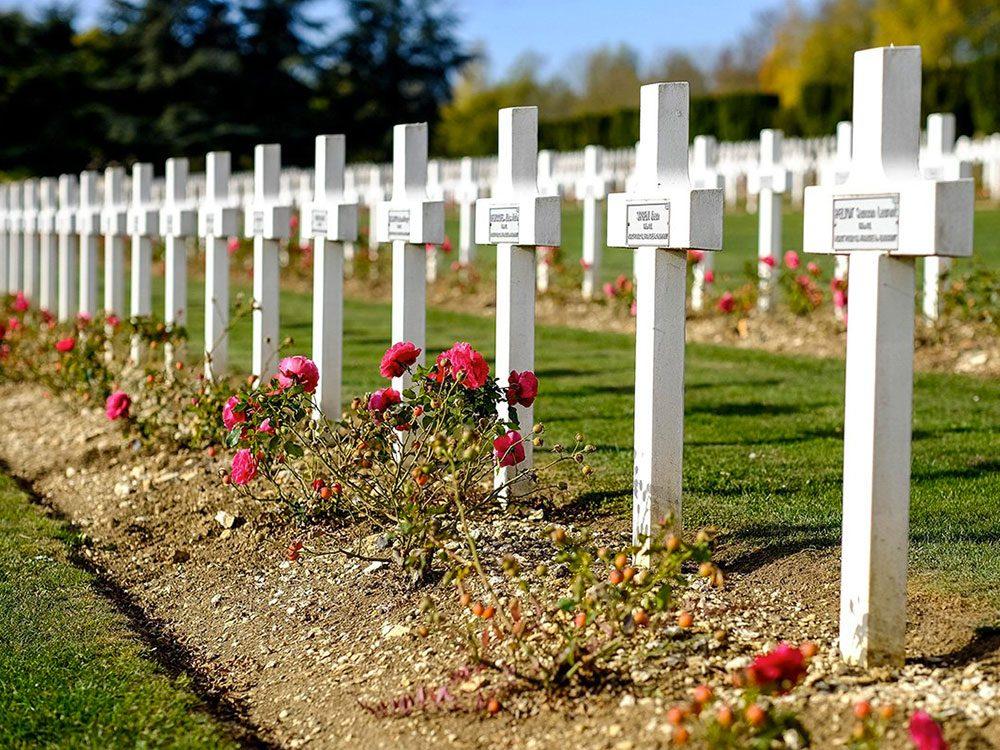 Faits incroyables: plus de soldats français sont morts durant la Première Guerre mondiale que de soldats américains au cours de l'histoire des États-Unis.