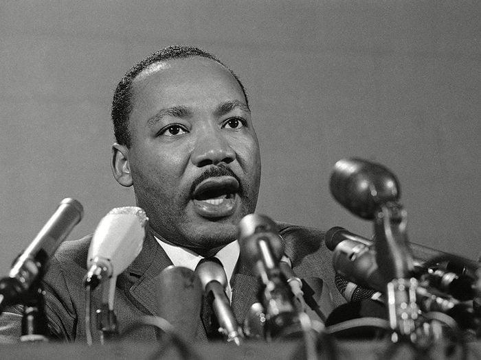 Faits incroyables: Anne Frank et Martin Luther King Jr sont nés la même année.