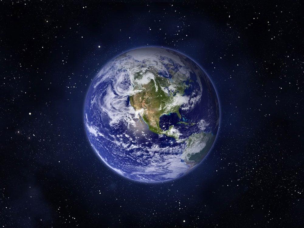 Faits incroyables: la Terre n'est pas ronde.