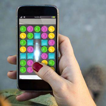 Les jeux sur téléphone pour se remettre du travail