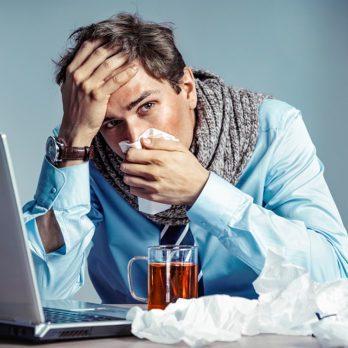 14 choses à ne pas faire si vous avez la grippe