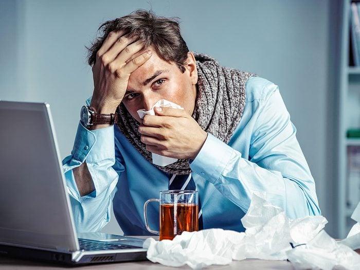 Voici ce qu'il faut faire quand on a la grippe.