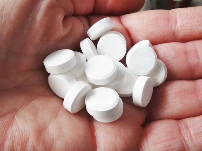 Ne prenez pas trop de médicaments contre la grippe et la fièvre.
