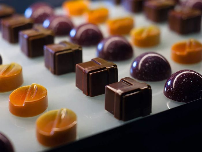 Magasinage: les magasins vous allèchent avec des... chocolats!