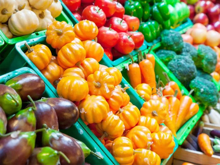 Magasinage: les épiceries mettent à l'avant-plan leurs produits les plus flamboyants.