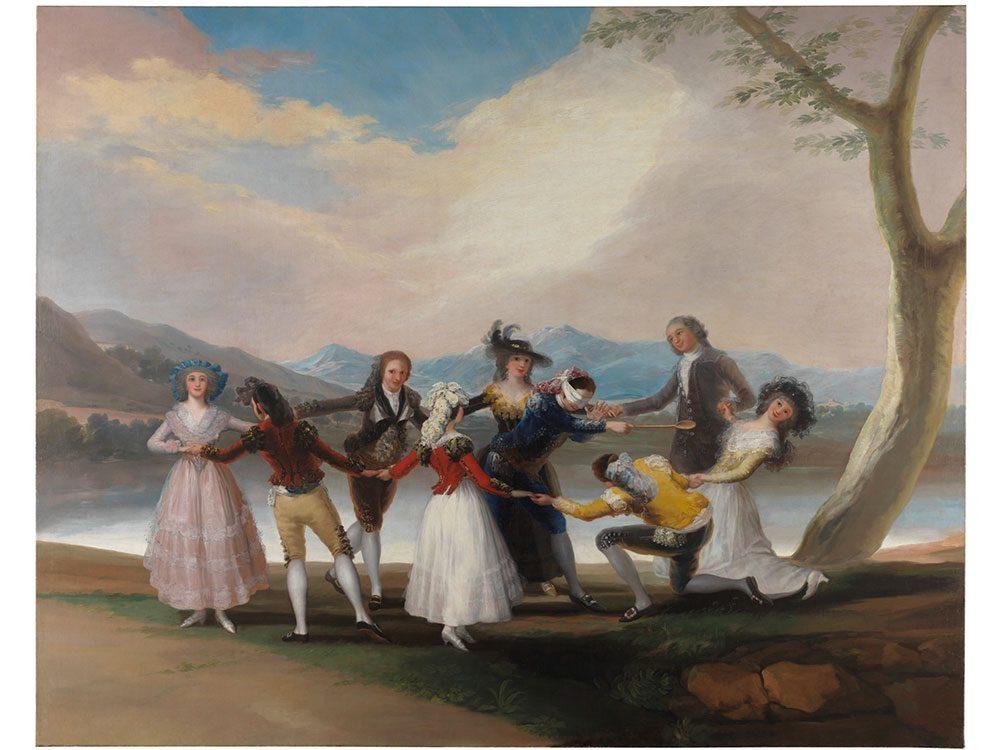 La poule aveugle de Francisco de Goya est l'une des peintures du Musée du Prado qui a été le plus copiées.