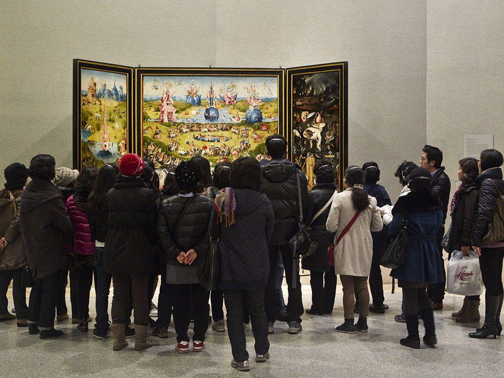 Le Prado est au 13e rang des musées les plus visités d'Europe.