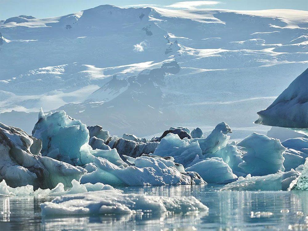 La neige est source d'eau douce.